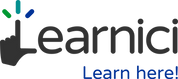 learnici logo with tag